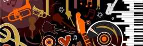 3419d4a98554554f652b2e34bf347019-stylish-musical-instruments-and-symbols